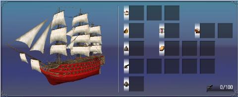 一等戦列船装備枠