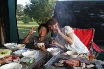 2013年夏休み 福井キャンプ
