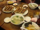 GSX1300R 夕餉 麺 餃子