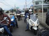GSX1300R ツーリング 福島県
