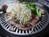 夕餉 昼餉 肉