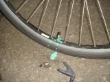 自転車 狐号 修理