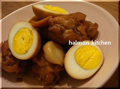 120222手羽と卵の酢煮