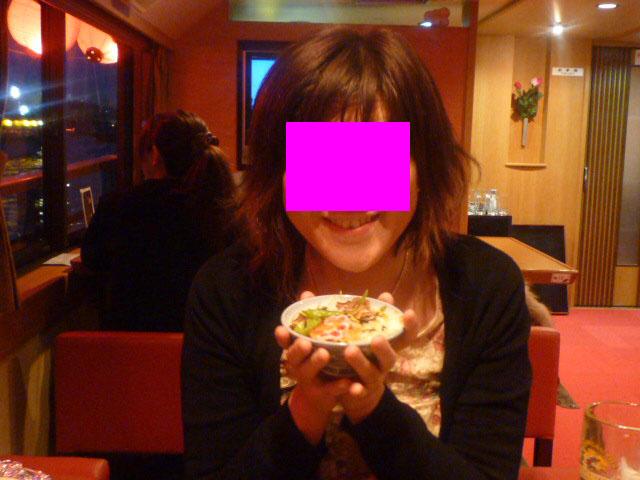 〆は 海鮮寿司♪