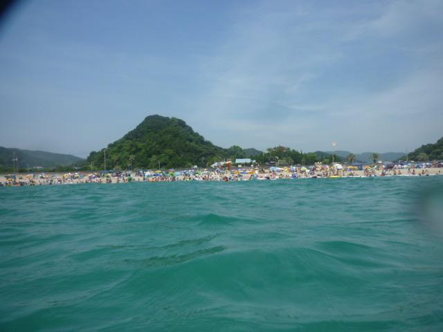 海からの 風景♪