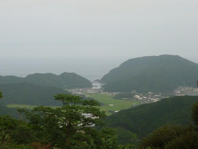M氏宅から 海までの距離。