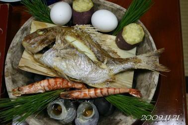 鯛の宝楽焼
