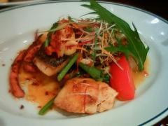 本日のお魚料理ランチ