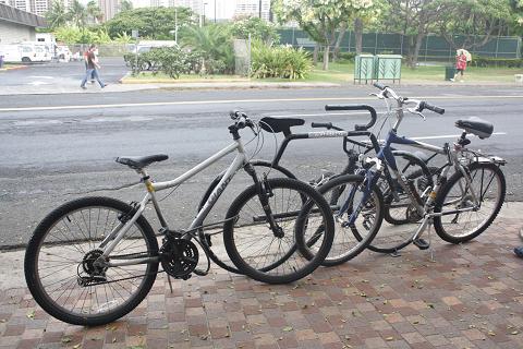 自転車止め