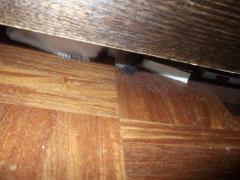 ベッドの下の悪魔