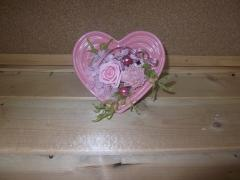 バレンタイン用プリザ