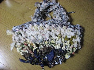 裂き編みミニ袋