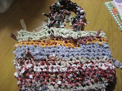 裂き編みバッグ2010・11月