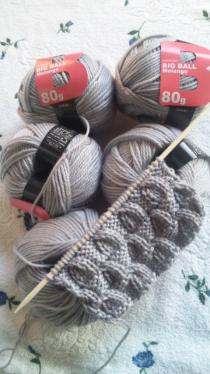 80gの毛糸