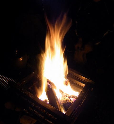 12焚き火