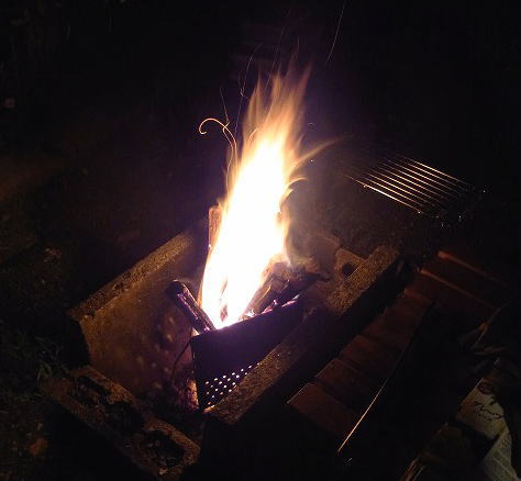 24焚き火