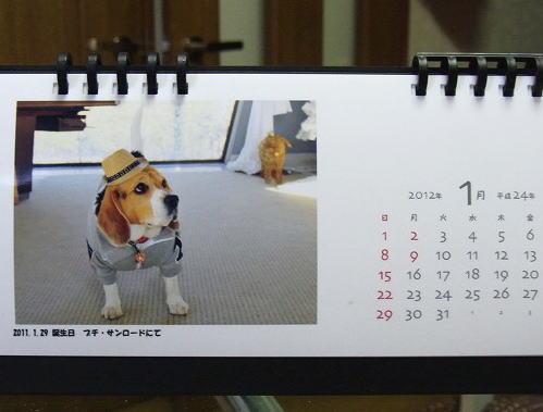 5RIKUくんカレンダー