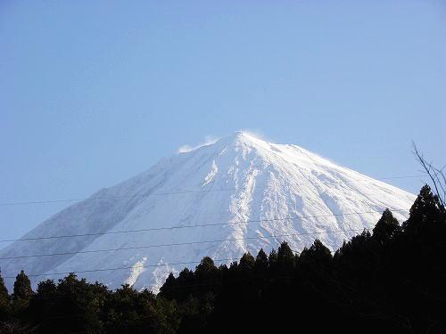 2この日の富士山