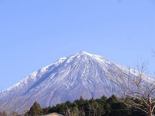 1この日の富士山