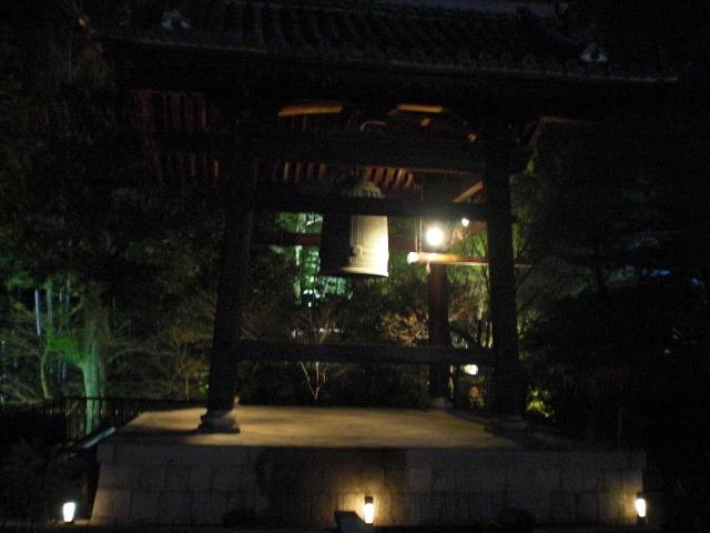 高台寺付近の鐘