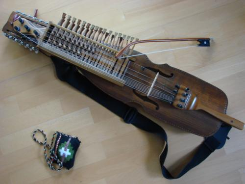 Det var harpan :-)
