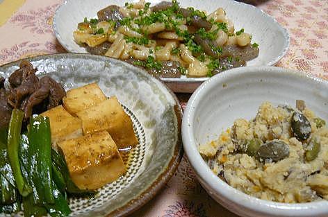 肉豆腐・おから
