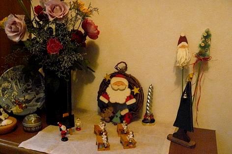 我が家の玄関にもクリスマス♪