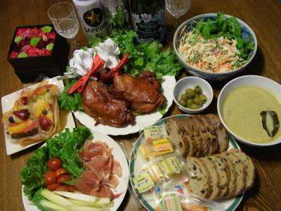 2011年クリスマスディナー (26)