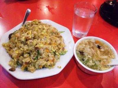 金明飯店2号店カレー焼飯600円