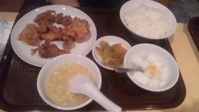 福臨門ランチ若鶏の唐揚680円