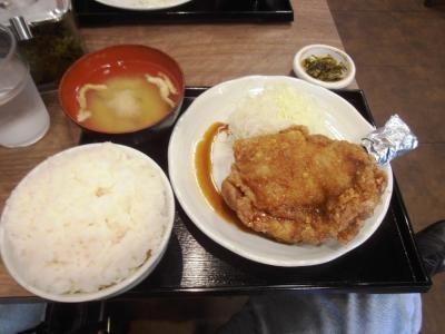 南蛮食堂海賊モモ肉定食850円20111104