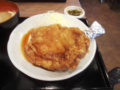 南蛮食堂海賊モモ肉定食850円20111104鶏モモ唐揚げ