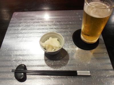 ラヴィリンス玉ネギピクルスとハートランドビール500円