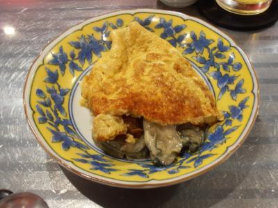 ラヴィリンス牡蠣の出汁オムレツ中身