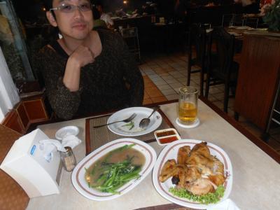2011年8月タイ-スリランカ旅行タイ後半18日スクンビットで日本から旅する友人と会食