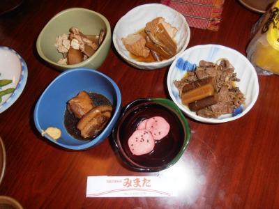 2011年8月タイ-スリランカ旅行タイ後半18日トンローソイ9居酒屋みまた小鉢料理