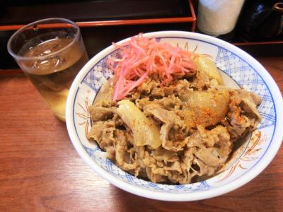2011年8月タイ-スリランカ旅行タイ後半19日日本街牛野屋牛丼130B