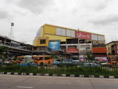 2011年8月タイ-スリランカ旅行タイ後半20日パホンヨーティン駅ユニオンモール