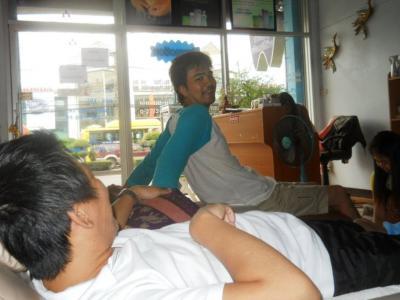 2011年8月タイ-スリランカ旅行タイ後半21日友人の経営するタイマッサージ最高!