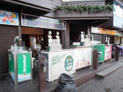2011年8月タイ-スリランカ旅行タイ後半21日サイアム・パラダイス・ナイトバザールのフードコート1