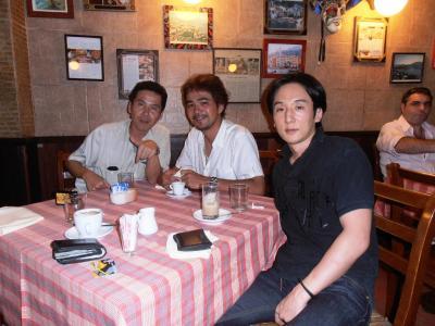 2011年8月タイ-スリランカ旅行タイ後半22日ベラ・ナポリBELLA NAPORIバンコク最後の晩餐
