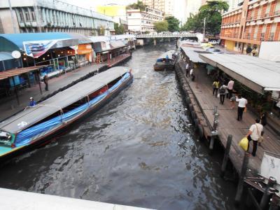 2011年8月タイ-スリランカ旅行タイ前半2日運河で移動