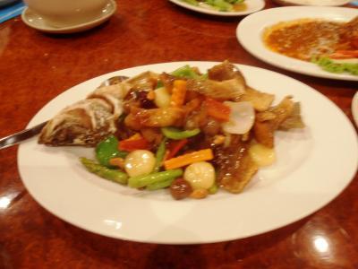 2011年8月タイ-スリランカ旅行タイ前半2日エカマイで魚料理
