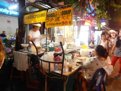 2011年8月タイ-スリランカ旅行タイ前半4日カオサンのラーメン屋