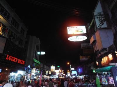 2011年8月タイ-スリランカ旅行タイ前半4日カオサンの夜