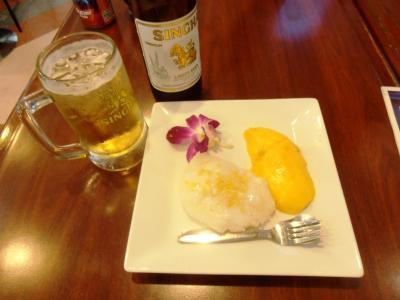 2011年8月タイ-スリランカ旅行タイ前半5日マンゴーライス