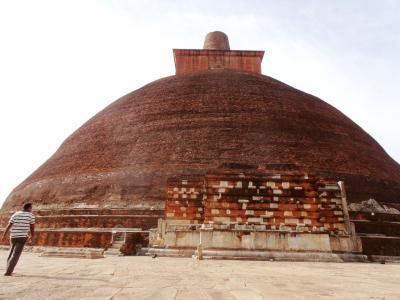 2011年8月タイ-スリランカ旅行スリランカ前半7日ジェータワナラーマヤ