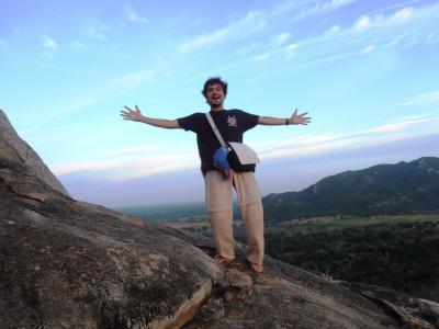 2011年8月タイ-スリランカ旅行スリランカ前半7日ミヒンタレーインビテーションロック