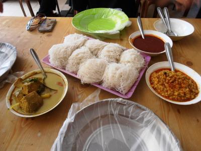 2011年8月タイ-スリランカ旅行スリランカ前半8日朝食カレービュッフェ