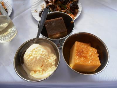 2011年8月タイ-スリランカ旅行スリランカ前半8日サドゥン結婚式デザート